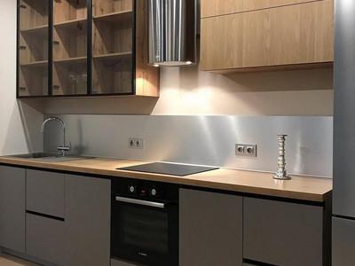 Кухня №14 (желтый/черный)