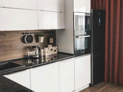 Кухня №17 (венге/белый)