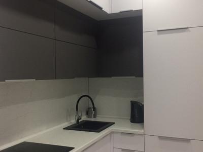 Кухня №38 (розовый/зеленый)