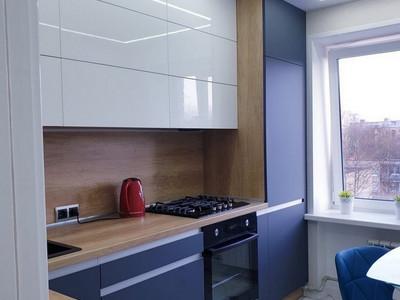 Кухня №42 (зеленый/серый)