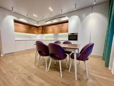 Кухня №3 (коричневая цвет)