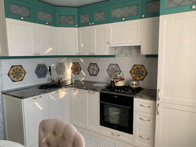 Кухня №4 (зеленая)