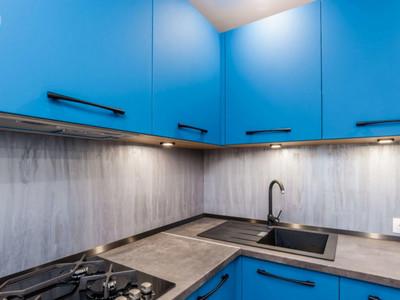 Кухня №8 (красная с белым)
