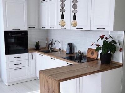 Кухня №11 (коричневая с бежевым)