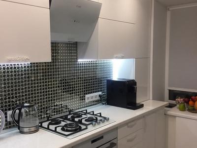 Кухня №22 (красная с серым)