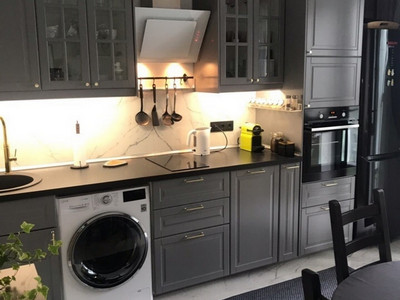 Кухня №27 (темно-коричневая)