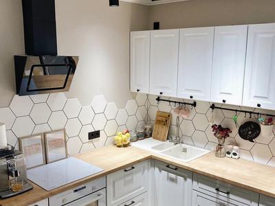 Кухня №29 (коричневая с серым)